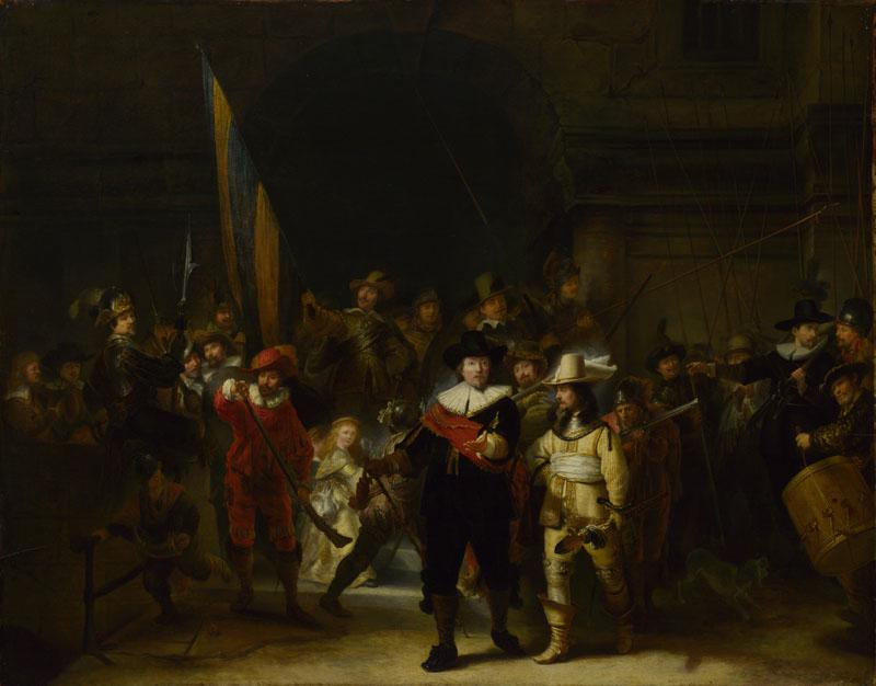 Gerrit Lundens (after Rembrandt) - The Company of Captain Banning Cocq (The Nightwatch)