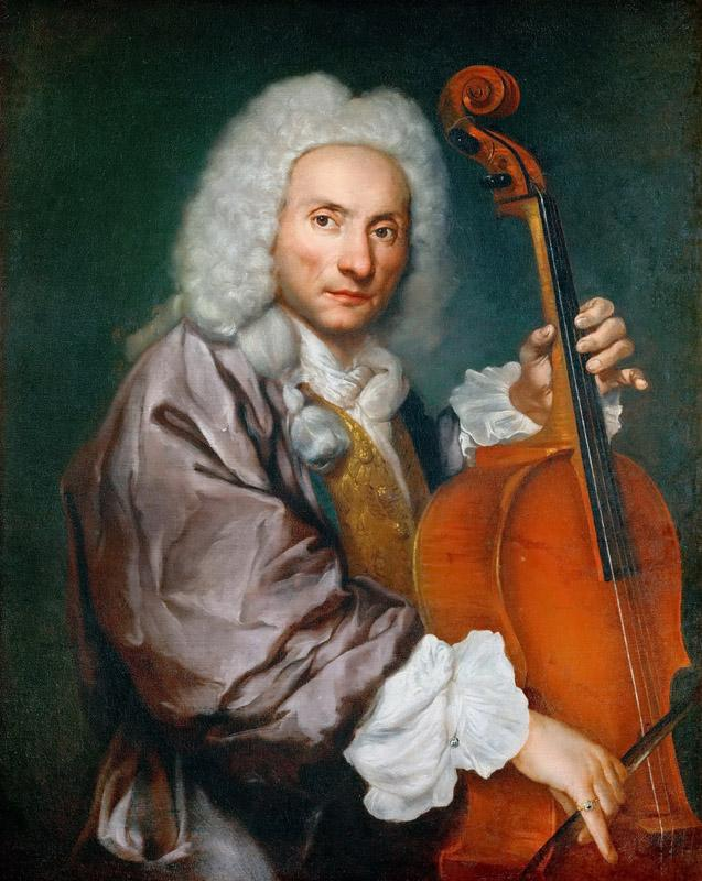 Giacomo Antonio Ceruti -- Portrait of a Cellist