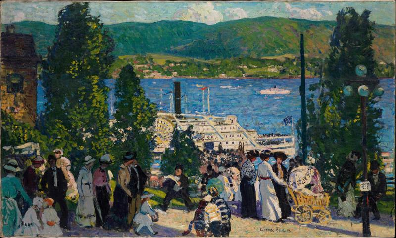 Gifford Beal--The Albany Boat