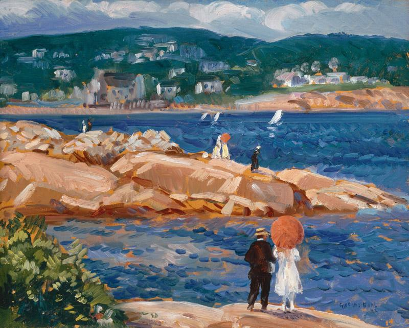 Gifford Reynolds Beal - On the Rocks, 1922