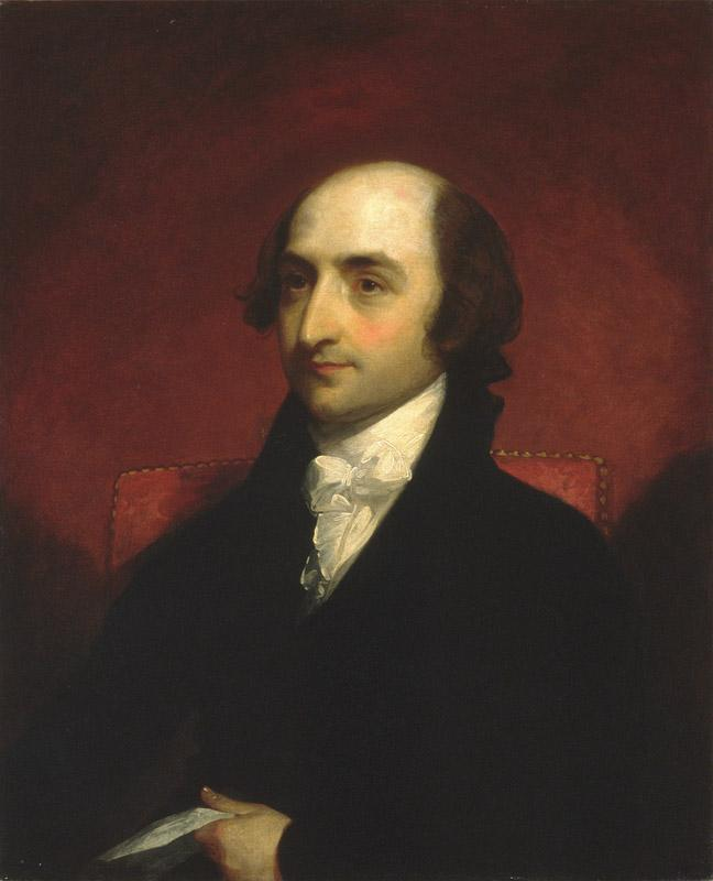 Gilbert Stuart--Albert Gallatin