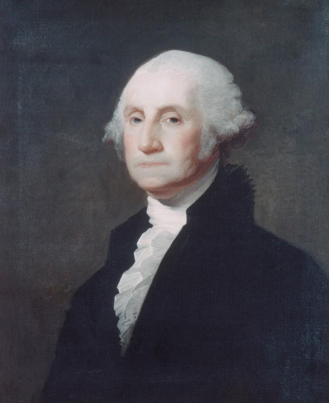 Gilbert Stuart--George Washington II