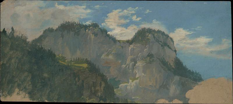 Gilles-Francois-Joseph Closson--View in the Dolomites