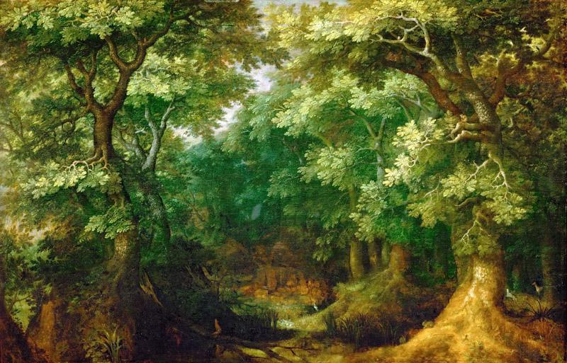 Gillis van Coninxloo III -- Wooded Landscape
