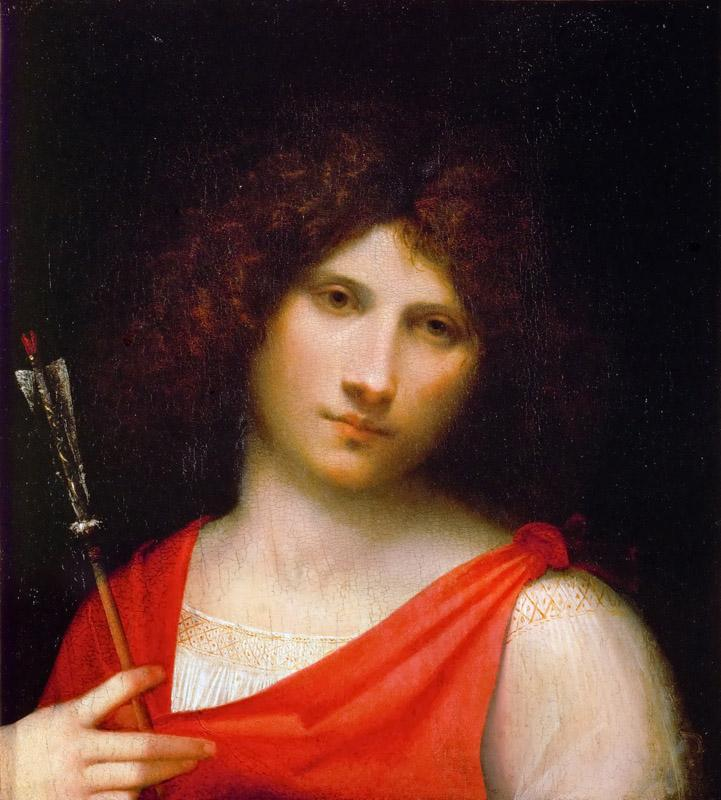 Giorgione -- The Boy with the Arrow