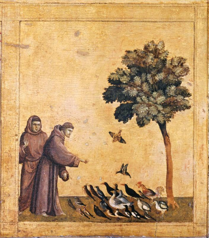 Giotto -- Saint Francis Preaching to the Birds