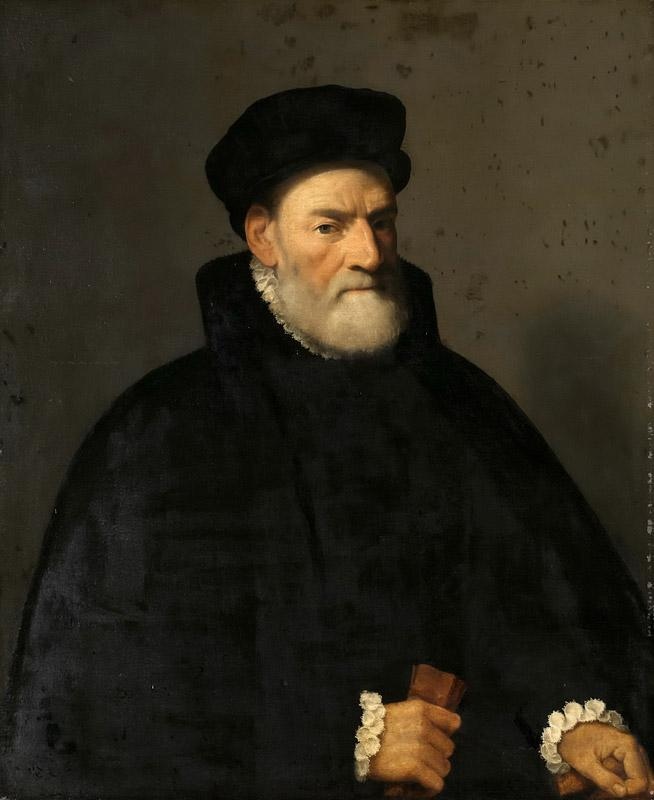 Giovanni Battista Moroni - Portrait of Vercellino Olivazzi