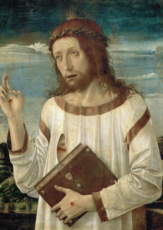 Giovanni Bellini (c.1433-1516) -- Christ Blessing