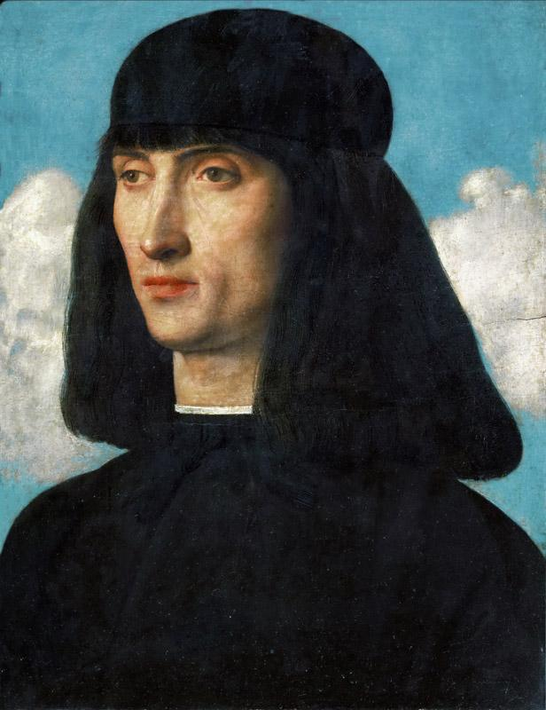 Giovanni Bellini (c.1433-1516) -- Portrait of a Man