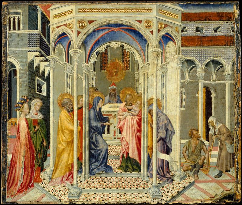 Giovanni di Paolo--The Presentation of Christ in the Temple