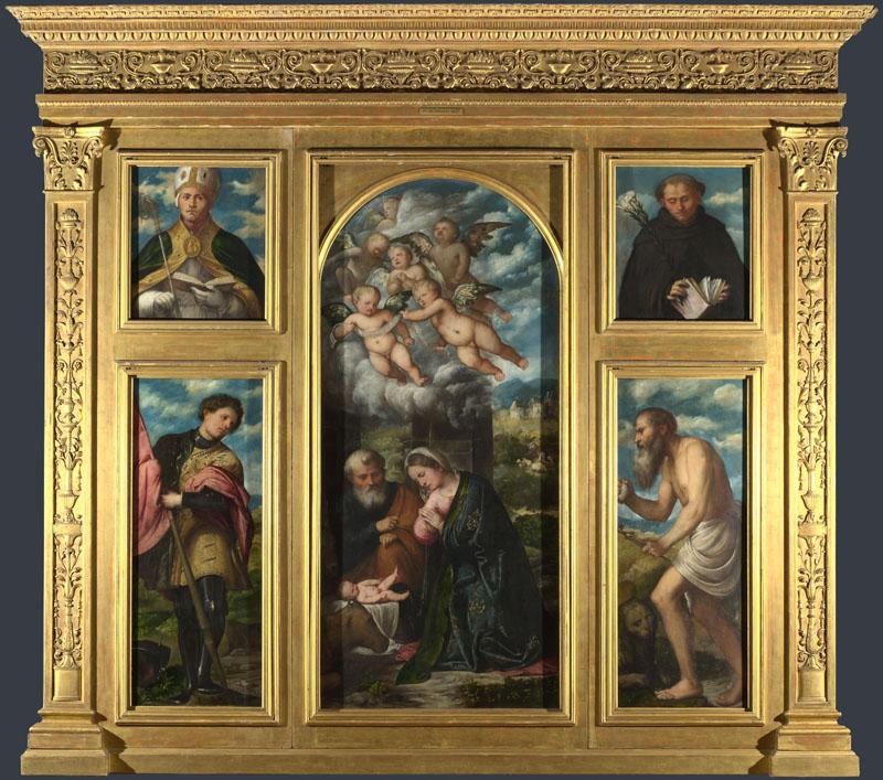 Girolamo Romanino - High Altarpiece, S