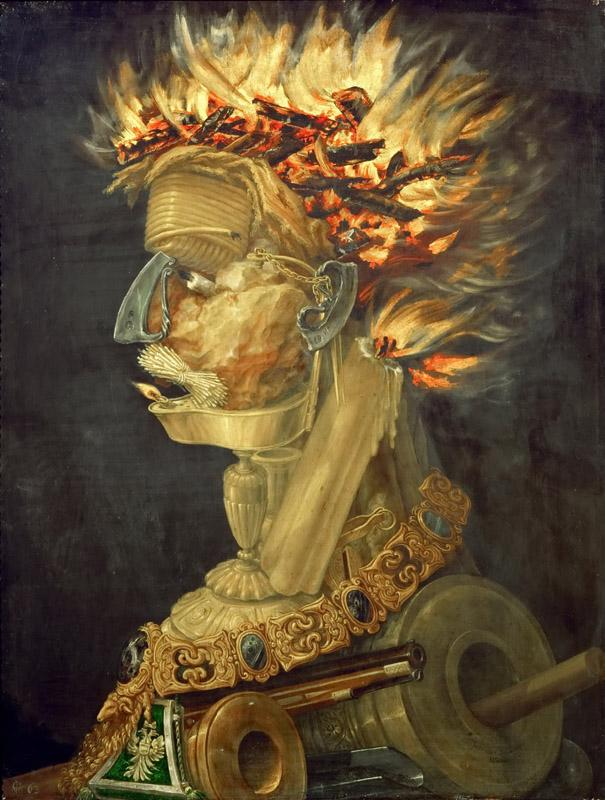 Giuseppe Arcimboldi (c.1527-1593) -- Fire (Allegory of Fire)