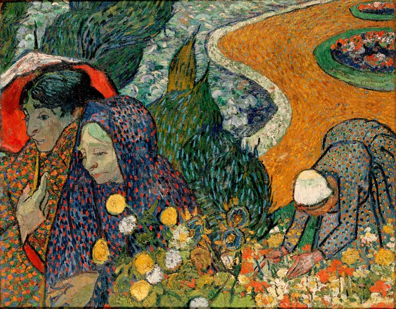 Gogh, Vincent van - Memory of the Garden at Etten (Ladies of Arles)