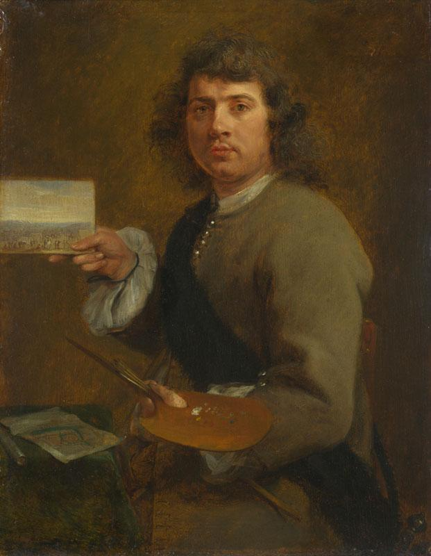 Gonzales Coques - Sight (Portrait of Robert van den Hoecke)