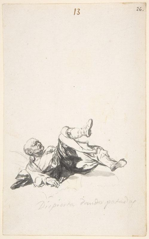 Goya--He Wakes Up Kicking
