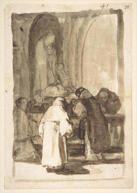 Goya--Interior of a Church Images