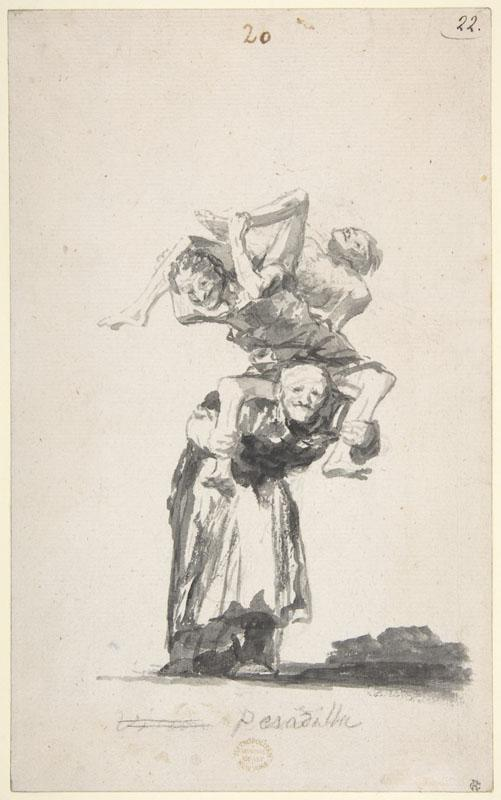 Goya--Nightmare Witches and Old Women