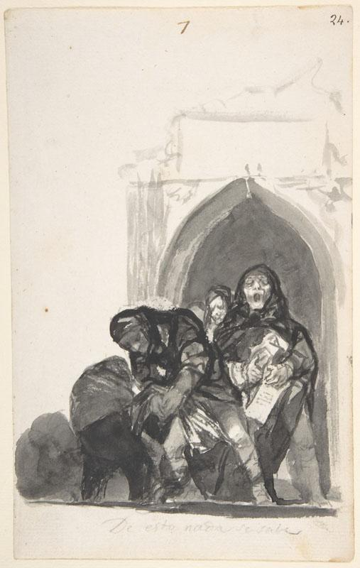 Goya--Nothing Is Known of This
