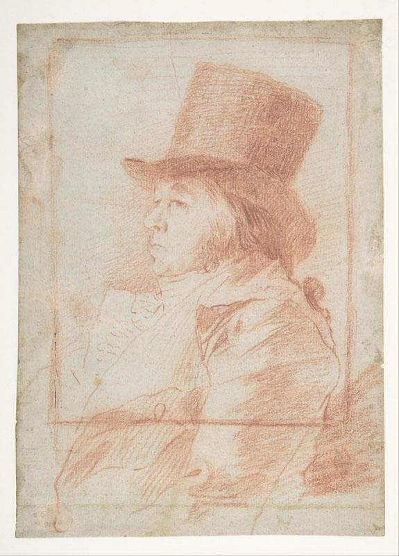 Goya--Self-Portrait2