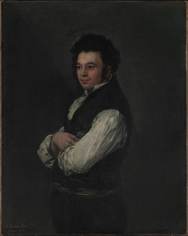 Goya--Tiburcio Perez y Cuervo, the Architect