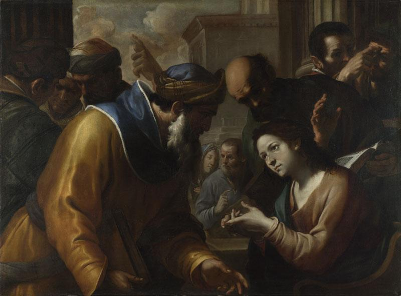 Gregorio Preti - Christ disputing with the Doctors