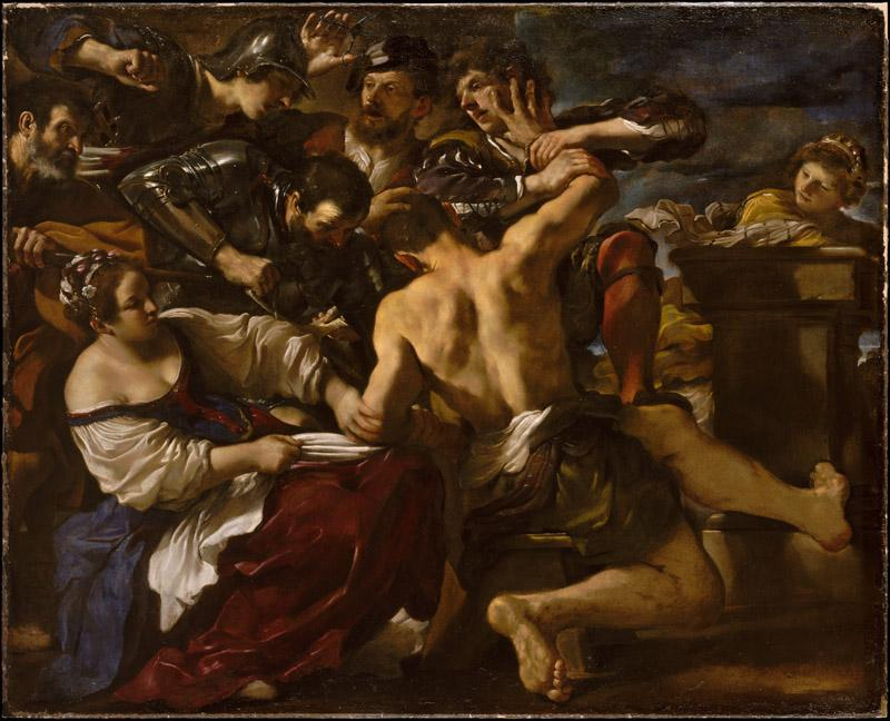 Guercino--Samson Captured by the Philistines