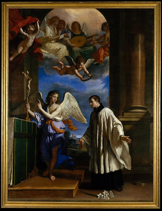 Guercino--The Vocation of Saint Aloysius (Luigi) Gonzaga