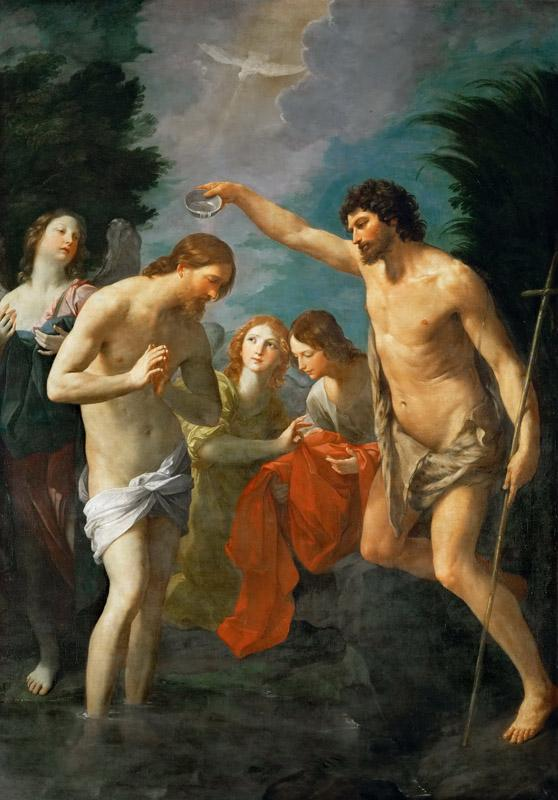 Guido Reni (1575-1642) -- Baptism of Christ