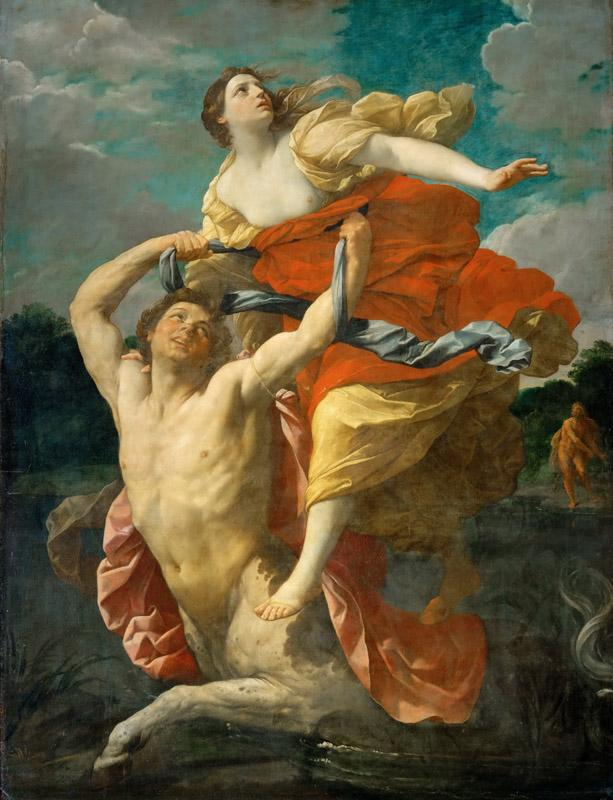 Guido Reni (1575-1642) -- Deianeira Abducted by the Centaur Nessus