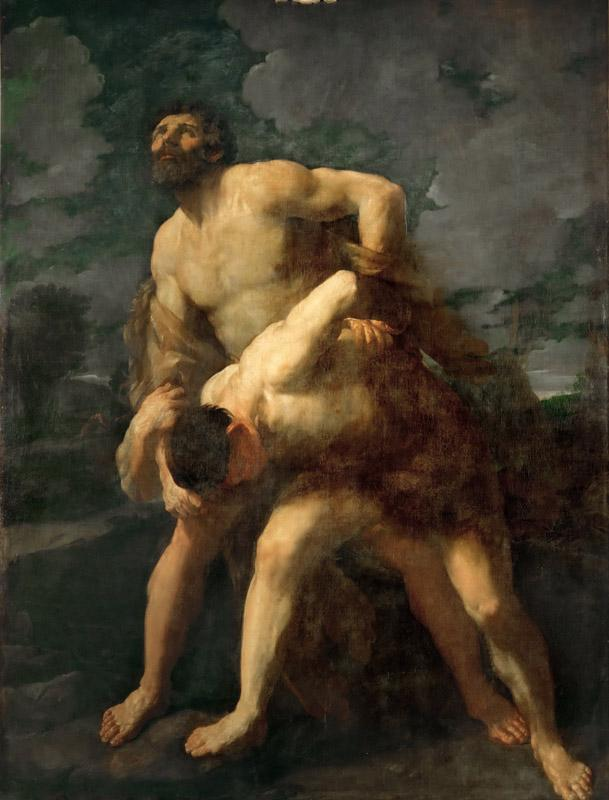 Guido Reni (1575-1642) -Hercules Wrestling with the River