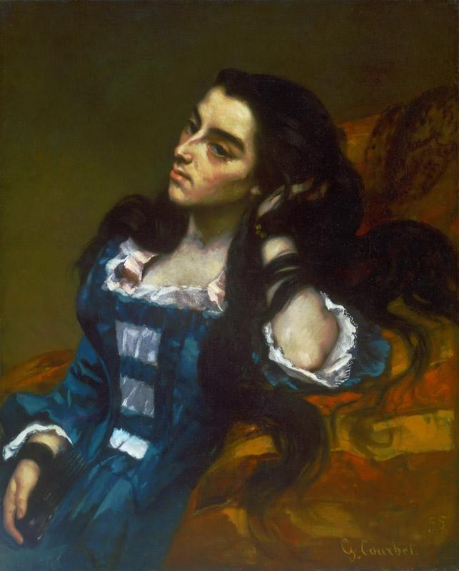Gustave Courbet, French, 1819-1877 -- Spanish Woman