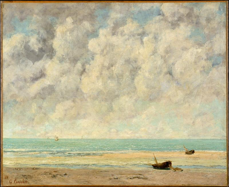 Gustave Courbet--The Calm Sea