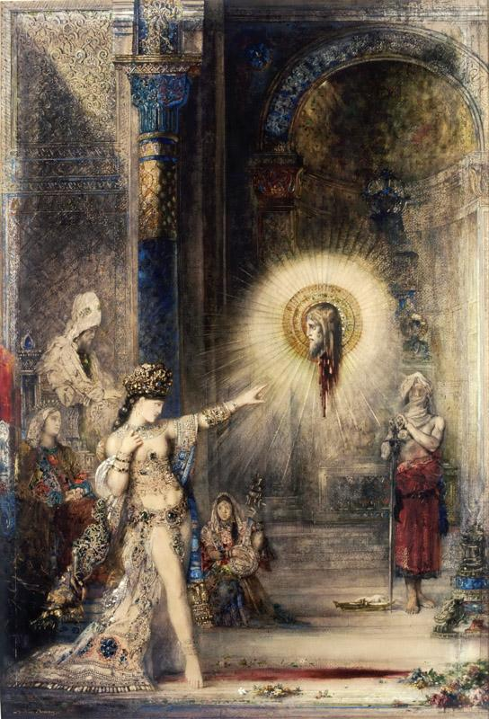 Gustave Moreau -- The Apparition