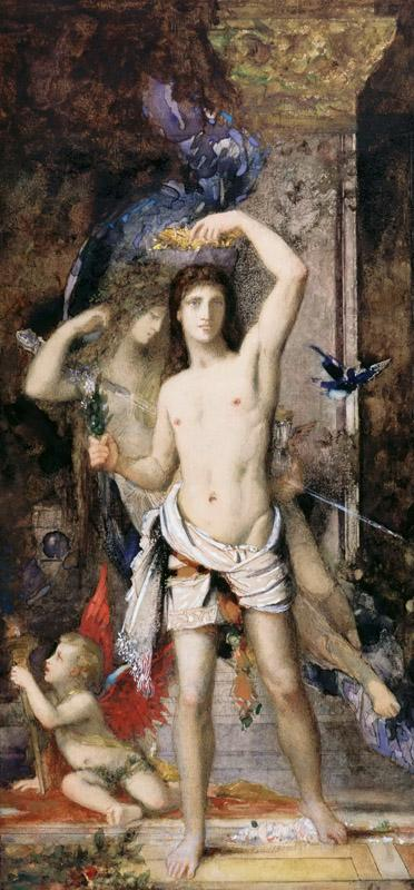 Gustave Moreau -- The Young Man and Death