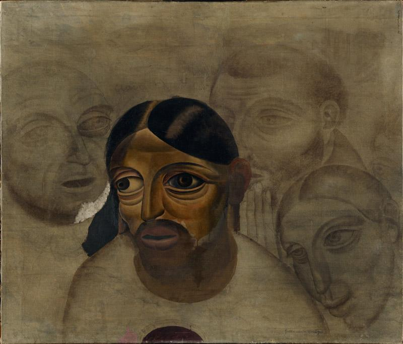 Gustave van de Woestyne - Fragment of a Last Supper 1