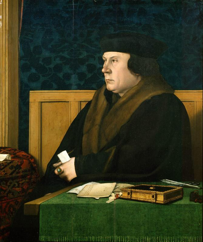 Hans Holbein - Thomas Cromwell, 1532-1533