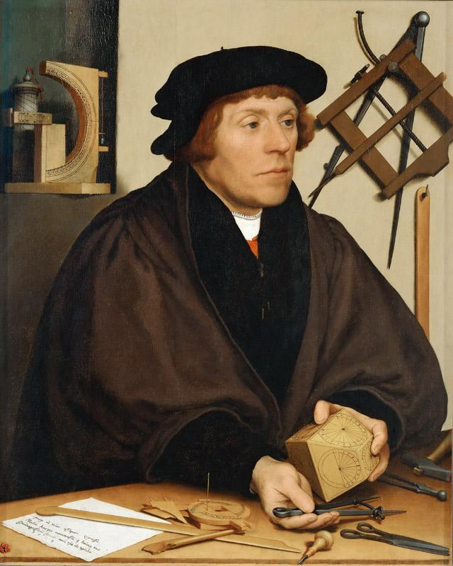 Hans Holbein the Younger(1497-1543)-Nicholas Kratzer