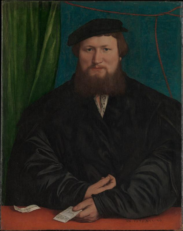 Hans Holbein the Younger--Derick Berck of Cologne