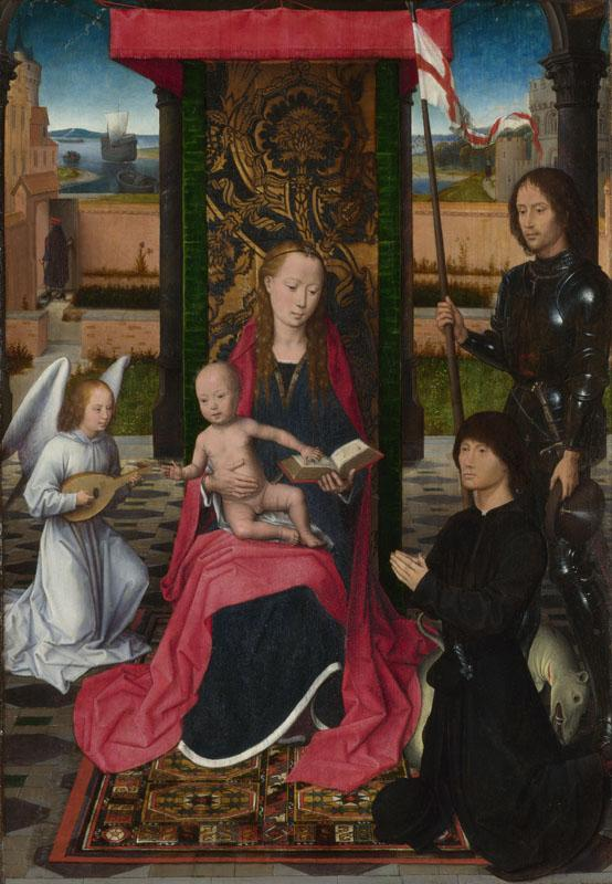 Hans Memling - The Virgin and Child with an Angel