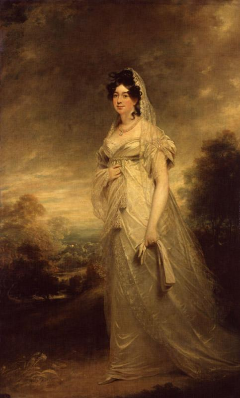 Harriot (Mellon), Duchess of St Albans by Sir William Beechey