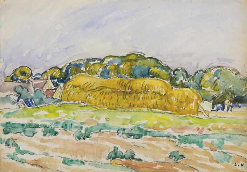 Haystack in Normandy, 1916
