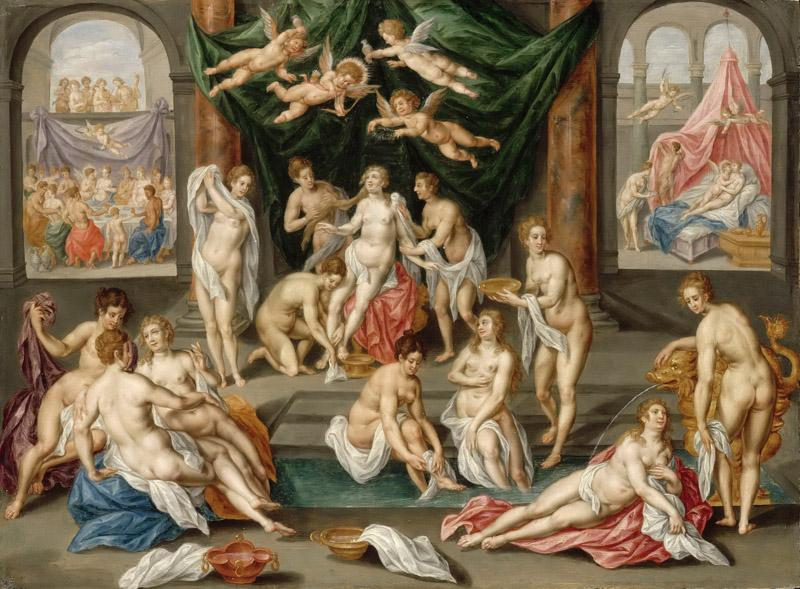 Hendrik de Clerck -- The Story of Psyche