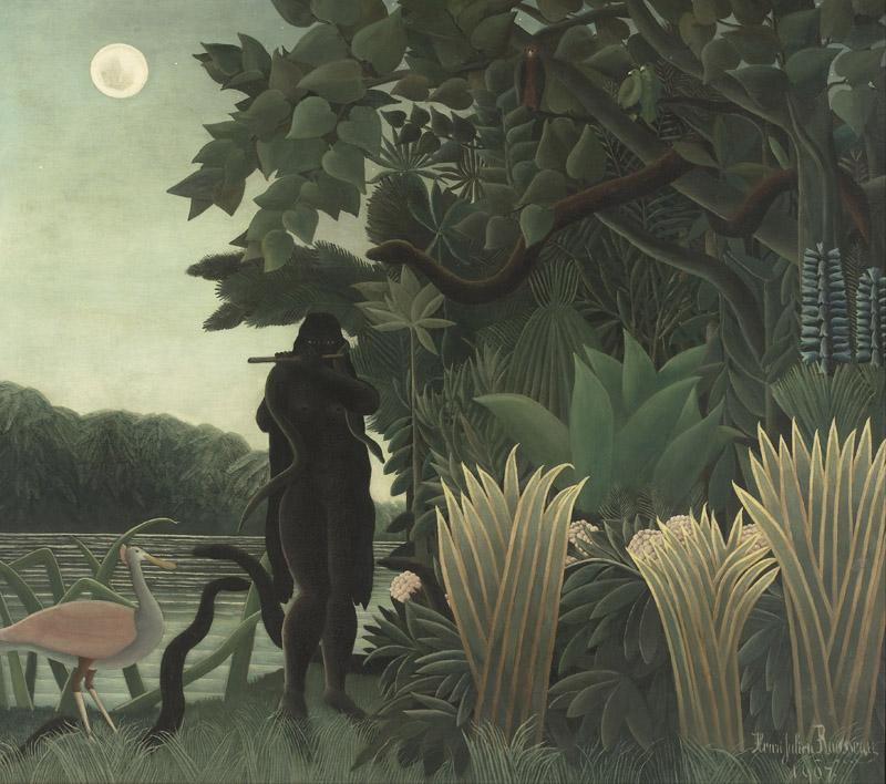 Henri Rousseau, known as le Douanier - The Snake Charmer