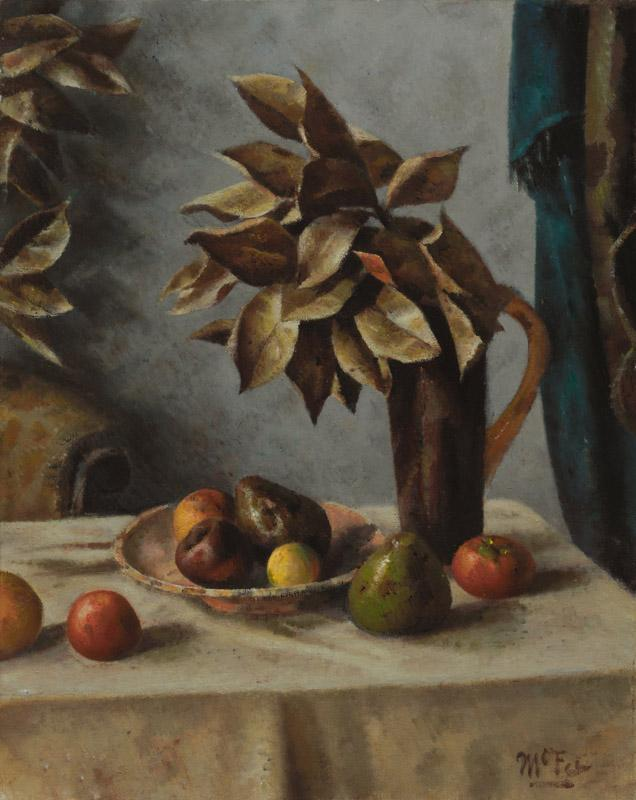 Henry Lee McFee - Fruit and Leaves, 1938