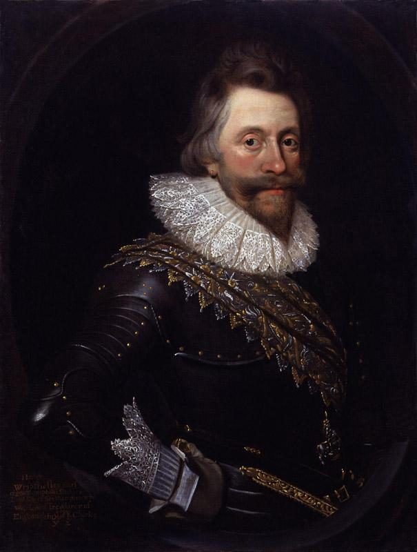 Henry Wriothesley 3rd Earl of Southampton after Daniel Mytens