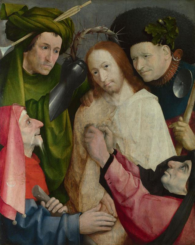 Hieronymus Bosch - Christ Mocked (The Crowning with Thorns)