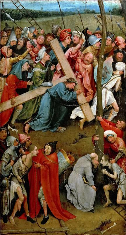 Hieronymus Bosch -- Christ Carrying the Cross