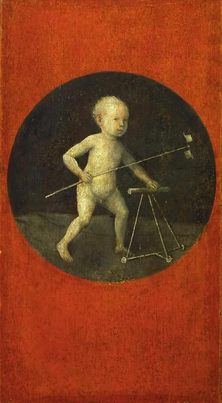 Hieronymus Bosch -- Small Child with Windmill