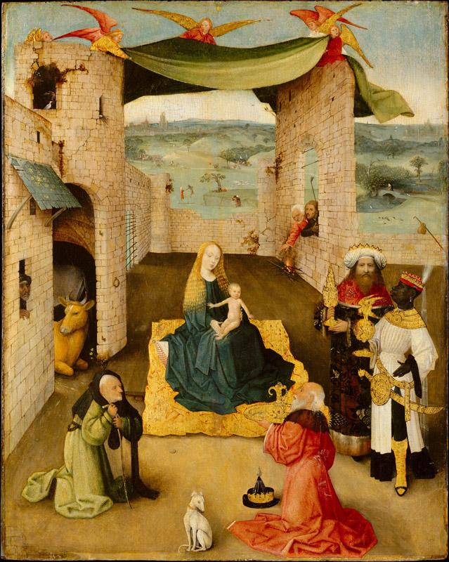 Hieronymus Bosch--The Adoration of the Magi