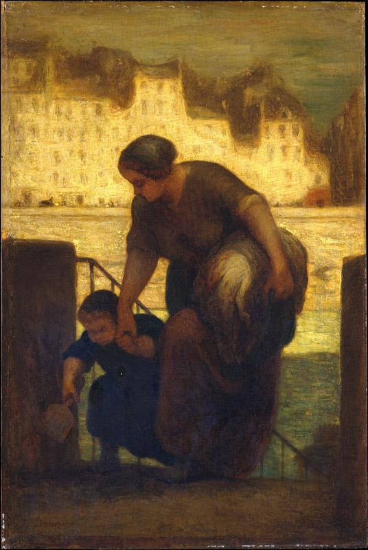 Honore Daumier--The Laundress